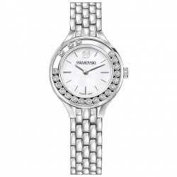 Reloj Lovely Crystals Mini, tono plateado
