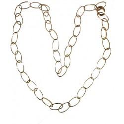 Collar Oro Rosa 78cm