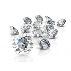 Diamantes certificados de todos los tamaños
