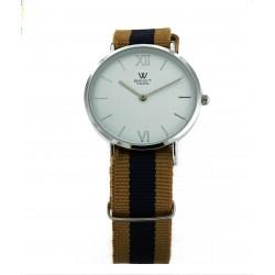 Reloj BEST PARIS Correa Azul y Camel