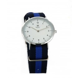 Reloj BEST PARIS Correa Azul Claro y Oscuro