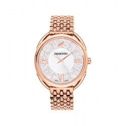 Reloj SWAROVSKI Crystalline Glam Brazalete Metal Tono Oro Rosa